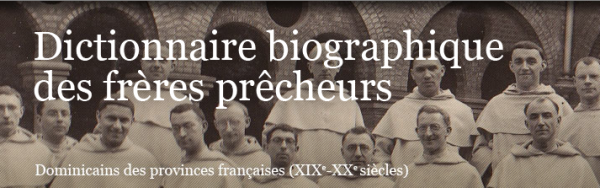 Biographical dictionary of the Dominican friars preachers